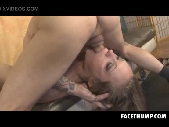Two Guys Passing Blonde Keegan Kade Face Between Them